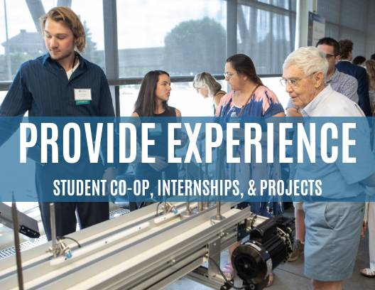Student Co-op, Internships, and Projects
